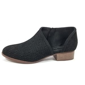 City Classified Side Cutout Ankle Booties